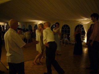 Image of Martin calling a barn Dance