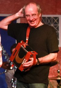 Picture of Bob Powell - Melodeon player with Sheer Hopody Barn Dance Band