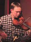 Picture of Nick, playing fiddle