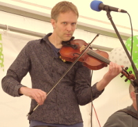 Picture of Nick Wyke - Fiddle player with Sheer Hopody Barn Dance Band