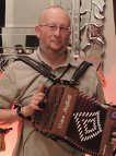 Picture of Richard Ashe - Melodeon player with Sheer Hopody Barn Dance Band